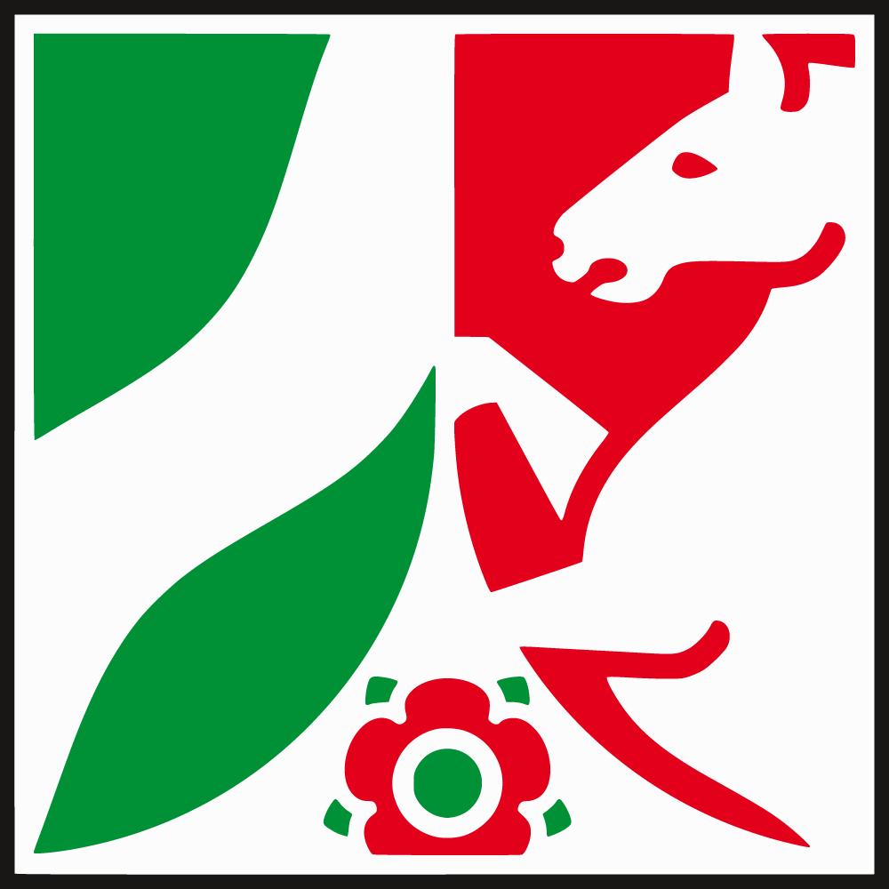Wappen des Landes Nordrhein-Westfalen